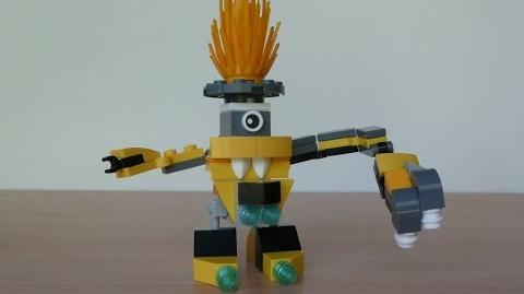 LEGO MIXELS KRADER and VOLECTRO MURP with Lego 41503 and Lego 41508 Mixels Serie 1