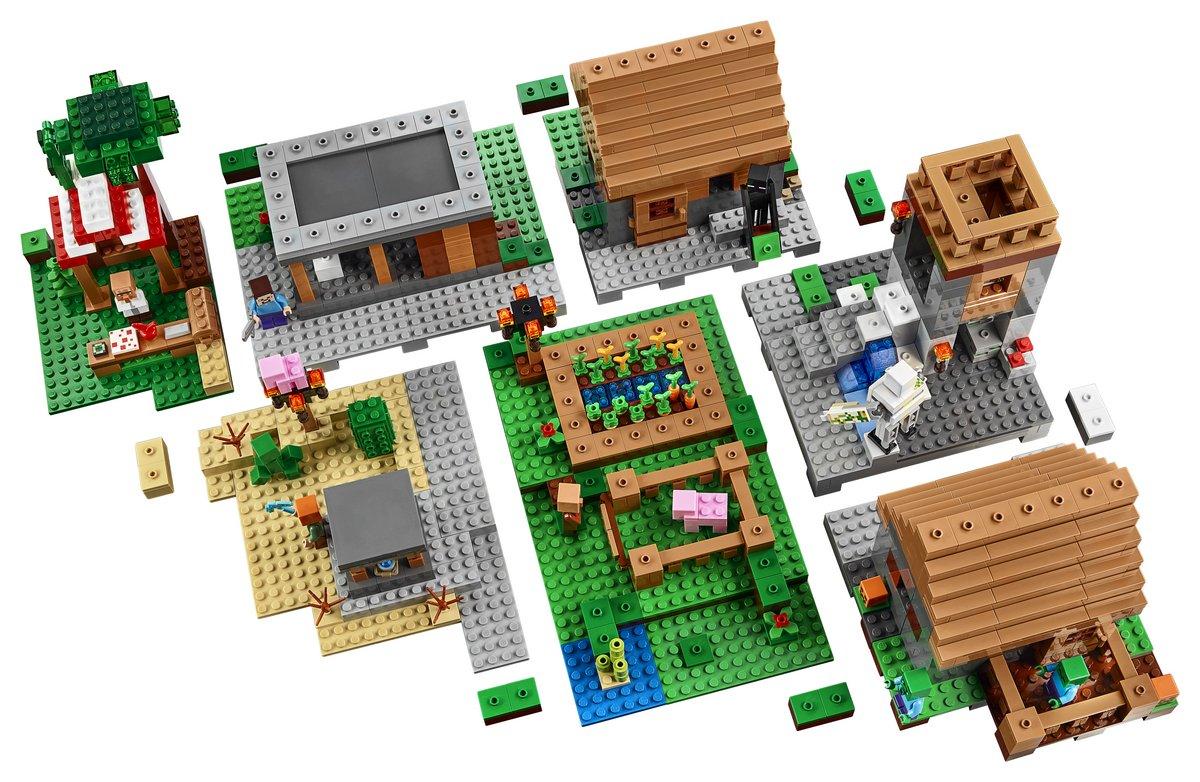 Image Lego Minecraft Village Set 21128g Mixels Wiki Fandom
