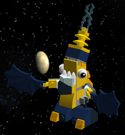 Zaptor Globert LEGO Mix