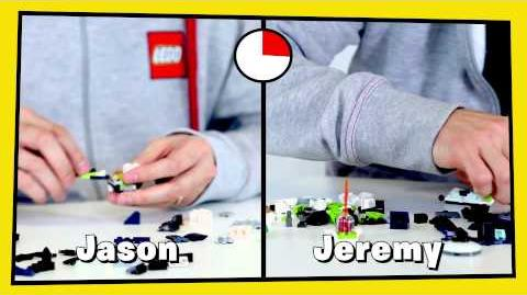 LEGO® Mixels Designer Challenge 4 Build a Glow-in-the-Dark Moon Mix