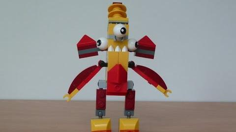 LEGO MIXELS FLAIN and ZAPTOR MIX with Lego 41500 and Lego 41507 Mixels Serie 1