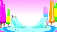 ICE HALFPIPE