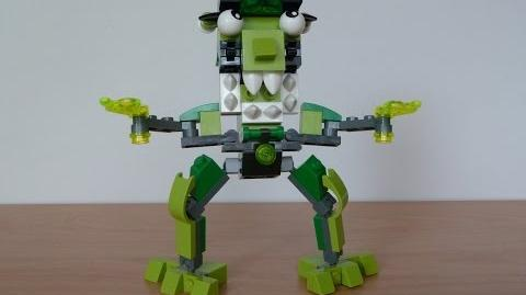 LEGO MIXELS GLOMP and GLURT MURP with Lego 41518 and Lego 41519 Mixels Serie 3
