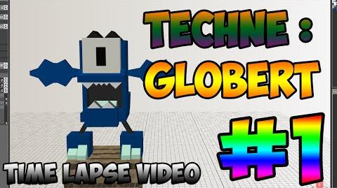 Mixel Modeling - Globert The Glowkie Mixel (Time Lapse Video)-0