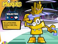 Volectro Mixels,com bio