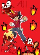 Guren and Infernites Poster