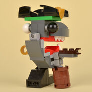 Lego Sharx Back Review