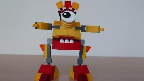 LEGO MIXELS VULK and ZAPTOR MURP with Lego 41501 and Lego 41507 Mixels Serie 1