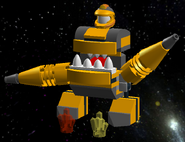 Mixels LEGO Drillex