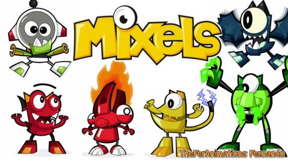 My Mixels Poster