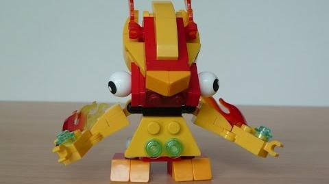 LEGO MIXELS FLAIN and VOLECTRO MIX with Lego 41500 and Lego 41508 Mixels Serie 1