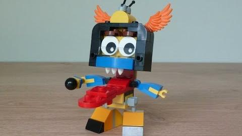 LEGO MIXELS SCREENO TUNGSTER MIX or MURP? Instructions Lego 41578 Lego 41544