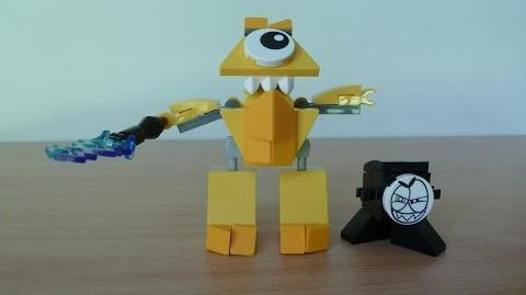 LEGO MIXELS TESLO LEGO 41506 Electroids Tribe MIXELS Serie 1