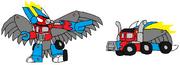 Cyber Flain Optimus Prime
