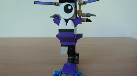 LEGO MIXELS SCORPI and MAGNIFO MURP with Lego 41522 and Lego 41525 Mixels Serie 3