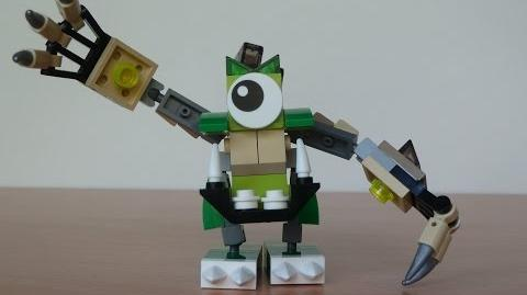 LEGO MIXELS GLOMP and HOOGI MURP with Lego 41518 and Lego 41523 Mixels Serie 3