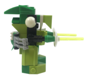 Shooter side view