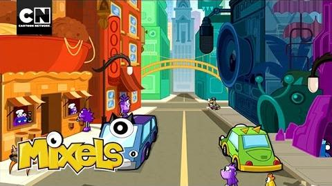 Mixels Mixopolis Cartoon Network