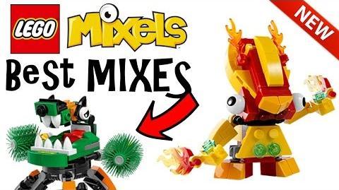LEGO Mixels BEST MIXES!