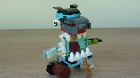 LEGO MIXELS SHARX SKRUBZ MIX or MURP? Instructions Lego 41566 Lego 41570