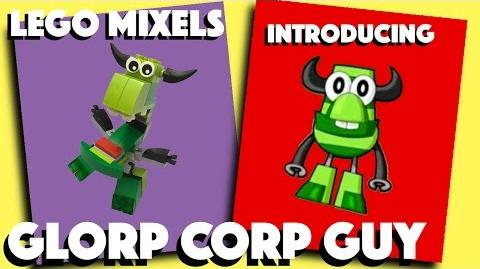 LEGO Mixels - Glorp Corp Guy - Series 6 - Stop Motion Build