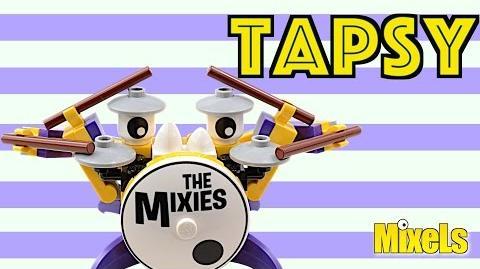 Lego Mixels Tapsy Lego stop motion animation build