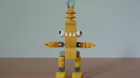 LEGO MIXELS ZAPTOR LEGO 41507 Electroids Tribe Mixels Serie 1