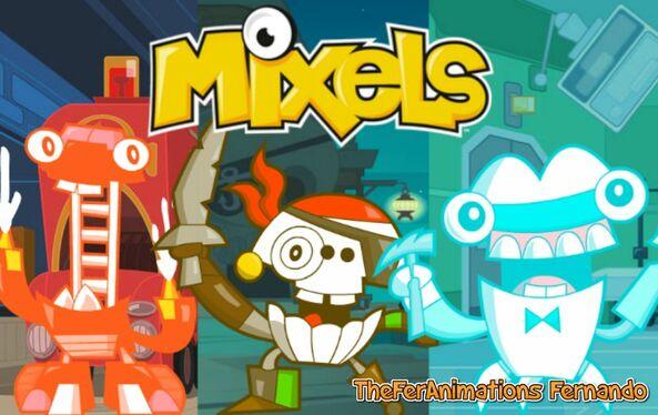 Mixels Series 8 Poster (TFA)-0