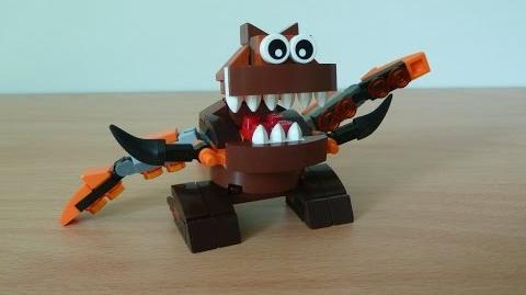 LEGO MIXELS GOBBA AND TENTRO MIX with LEGO 41513 and LEGO 41516 Mixels serie 2