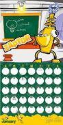 Zaptor Calendar