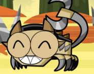 Scorpi closeing eyes