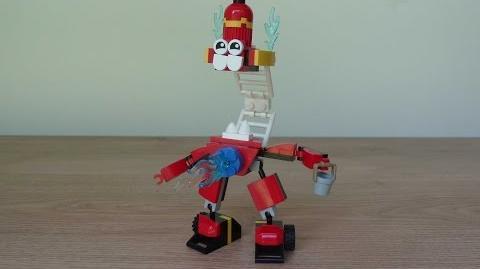 LEGO MIXELS SPLASHO HYDRO MIX or MURP? Instructions Lego 41563 Lego 41565