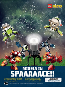 Mixels In SPAAAAACE!!
