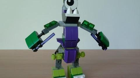 LEGO MIXELS GLOMP and MAGNIFO MIX with Lego 41518 and Lego 41525 Mixels Serie 3