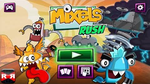 Mixels Rush (By Cartoon Network) - iOS Android - Gameplay Video Part 1