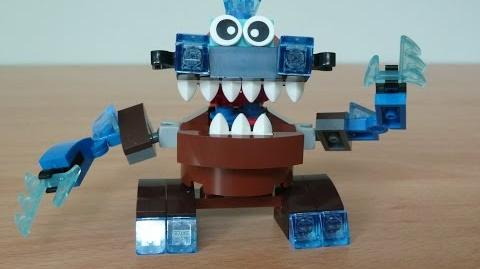 LEGO MIXELS GOBBA and SLUMBO MIX with Lego 41513 and Lego 41509 Mixels serie 2