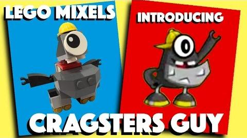 LEGO Mixels Cragsters Guy - Stop Motion Build