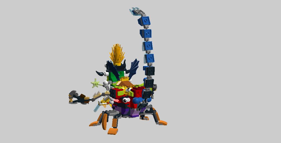 Lego Mixels Mega Instructions
