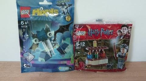 LEGO GIVEAWAY August 2016 Lego Mixels 41534 Vampos Lego Harry Potter 30111 The Lab