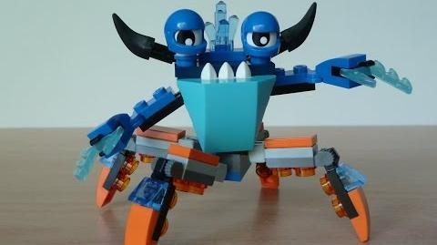 LEGO MIXELS SLUMBO and TENTRO MIX with Lego 41509 and Lego 41516 Mixels Serie 2
