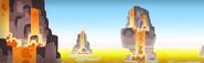 Magma Wastelands Background
