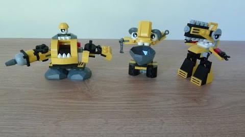 LEGO MIXELS SERIES 6 WELDOS Kramm Forx Wuzzo Weldos Max