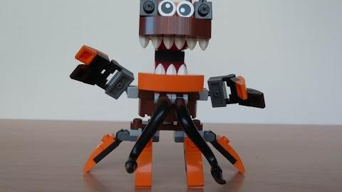 LEGO MIXELS GOBBA and KRAW MURP with Lego 41513 and Lego 41515 Mixels Serie 2