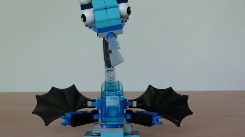 LEGO MIXELS LUNK and FLURR MURP with Lego 41510 and Lego 41511 Mixels Serie 2