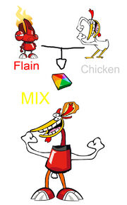 Flain and Chicken MIX