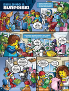 Glomp and Magnifo are in comics
