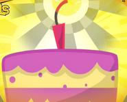 Exploding Cake