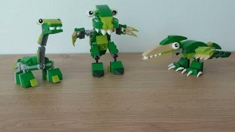 LEGO MIXELS SERIES 10 MOC DINOSAURZ Tribe + DINOSAURZ MAX