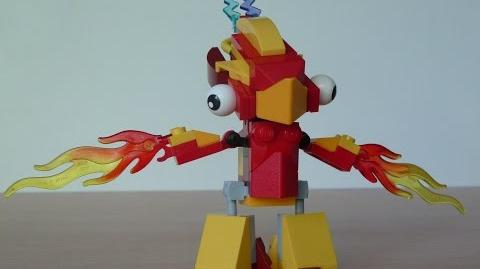 LEGO MIXELS FLAIN and TESLO MIX with Lego 41500 and Lego 41506 Mixels Serie 1