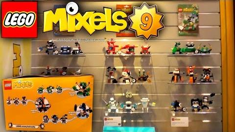 LEGO Mixels 2016 - Series 9 - Trashoz, Nindjas, Newzers Tribes - New York Toy Fair